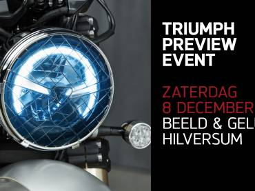 Triumph presenteert 2019 modellen in Hilversum