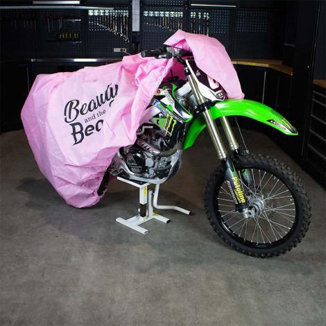 motorhoes roze datona