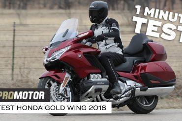 Honda GL1800 Gold Wing 2018 – 1 minute test