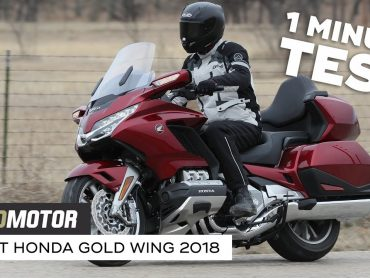 Honda GL1800 Gold Wing 2018 – 1 minute test