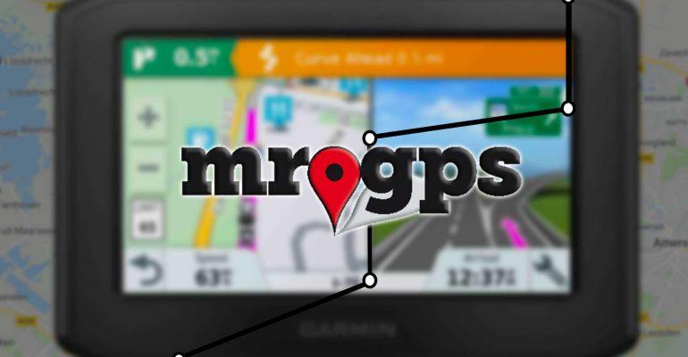 MrGPS: Garmin en herberekenen