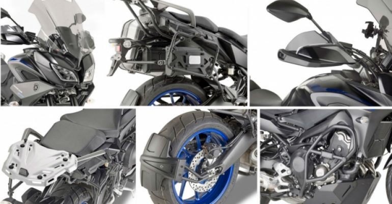 Givi: spullen voor Yamaha Tracer 900