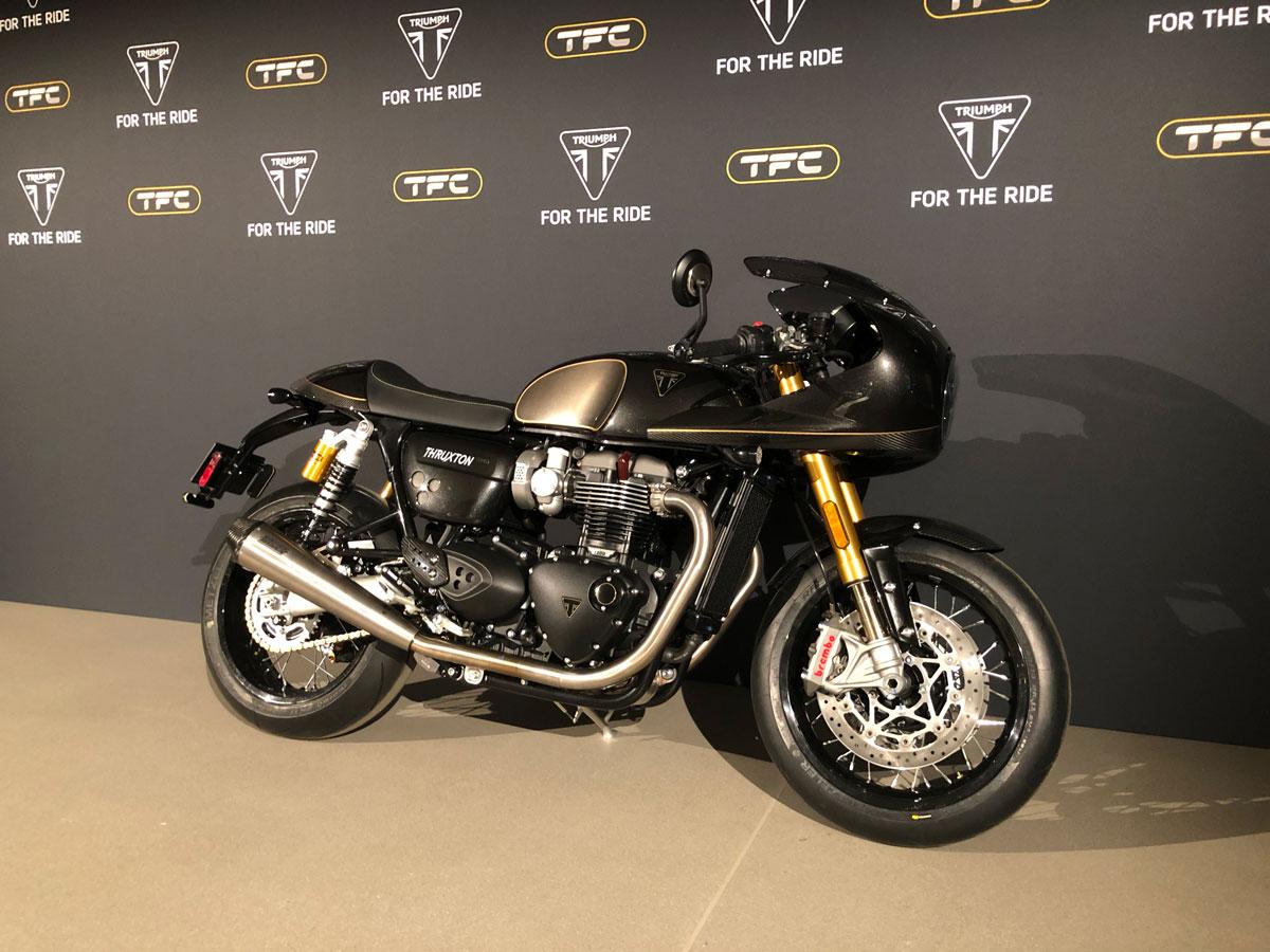 Triumph Factory Custom Lijn Start Met Nieuwe Thruxton Tfc Rocket