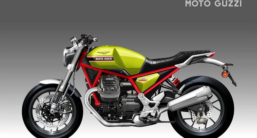 Moto Guzzi V8 Sport Concept