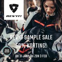 Doe je voordeel met de Rev'IT Sample Sale van 31 januari t/m 3 februari