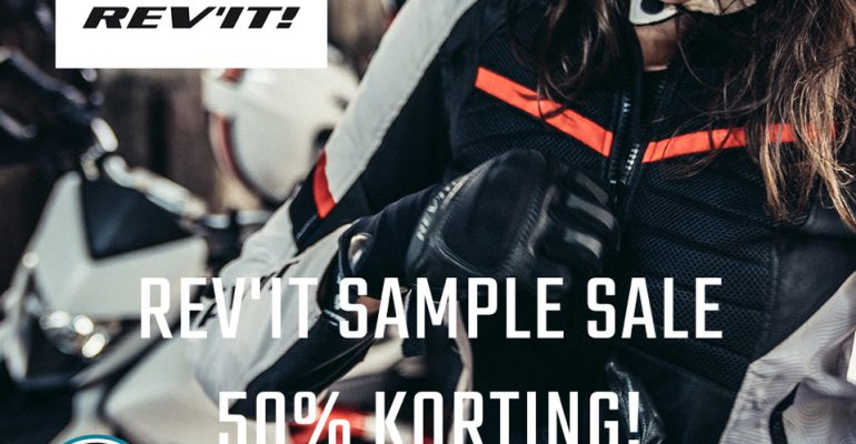 Doe je voordeel met de Rev'IT Sample Sale van 31 januari t/m 3 februari