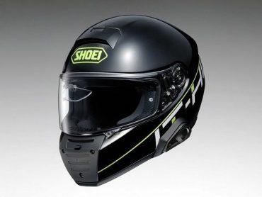 Shoei hint op een nieuwe helm met Bluetooth en HUD
