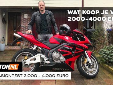 Motoren 2.000 tot 4.000 euro – Motoroccasiontest