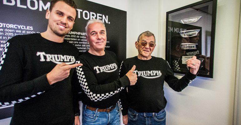 Blom Motoren Leusden 'Beste Triumph Dealer' 2018