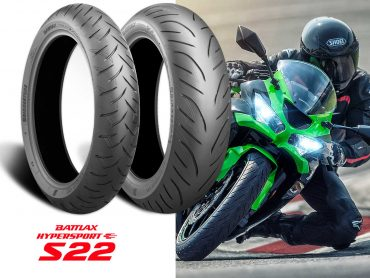 Kawasaki kiest voor Bridgestone Hypersport S22