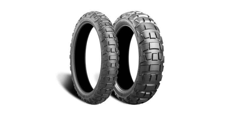 Bridgestone AX41 Adventurecross bij de dealer