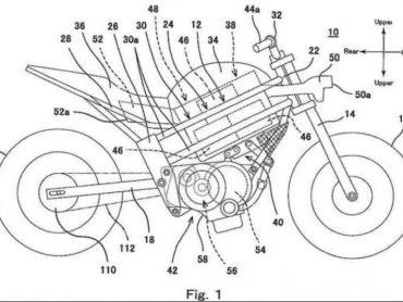 Een elektrische Kawasaki op komst?