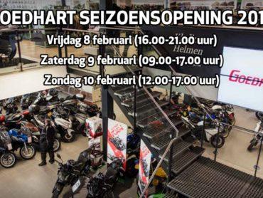 Promotor, MOTO73 en Classic & Retro op Goedhart Seizoensopening 2019