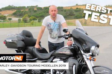 Harley-Davidson Touring modellen 2019 – Eerste Test #Vlog