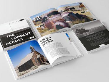 Huib Maaskant schrijft The Longcut Across, een boek over een motorreis door de USA