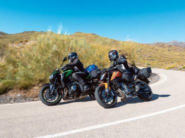 Toertest: Kawasaki Z900 vs KTM 790 Duke