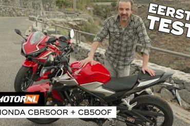 Honda CBR500R & CB500F 2019 – Eerste Test #Vlog