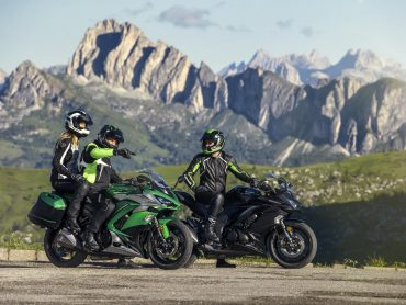 De Kawasaki Z1000SX standaard als Tourer Edition