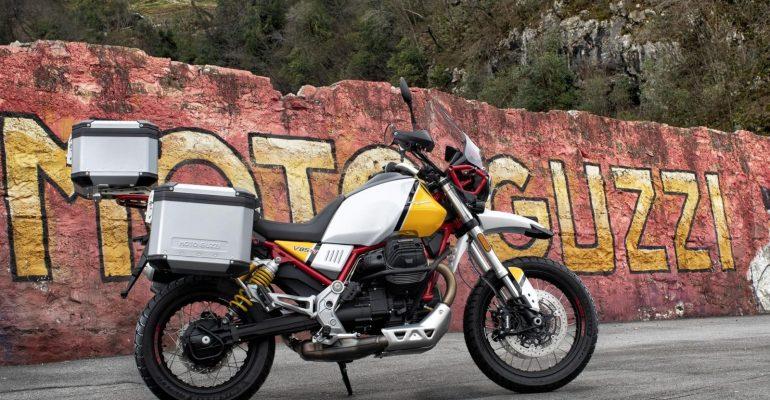 Drie accessoirepakketten voor nieuwe Moto Guzzi V85TT