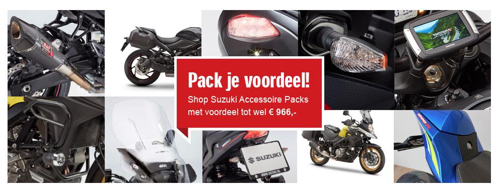 Suzuki Accessoire Packs