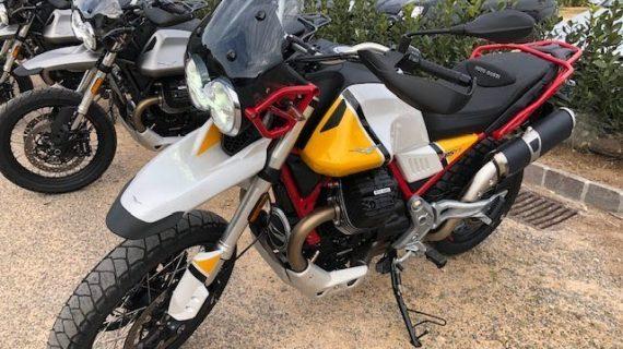 Moto Guzzi V85 TT 2019 Eerste Test #Vlog