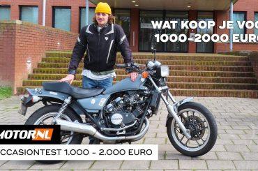 Motoren 1.000 tot 2.000 euro – Motoroccasiontest