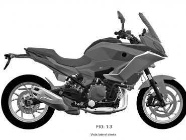 BMW patenteert ontwerp dat waarschijnlijk de F850RS is
