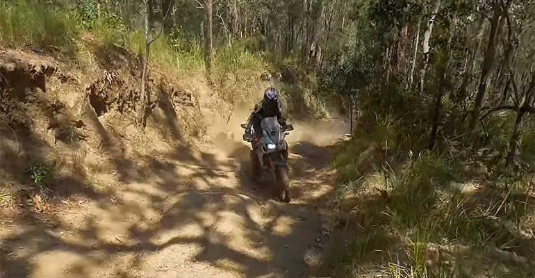 Krankzinnig: heuvelklimmen op een Honda Africa Twin