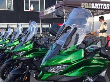 Kawasaki Versys 1000 SE lezerstest: de route