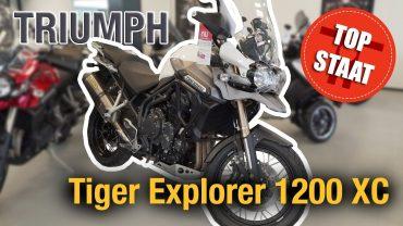 Top Staat #3: Triumph Tiger Explorer 1200 XC