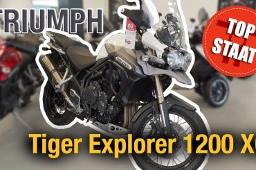 Top Staat #3: Triumph Tiger Explorer 1200 XC