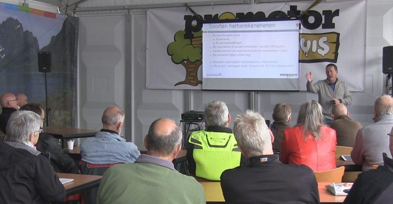 MrGPS Hans Vaessen present op het Mega MotorTreffen 2019