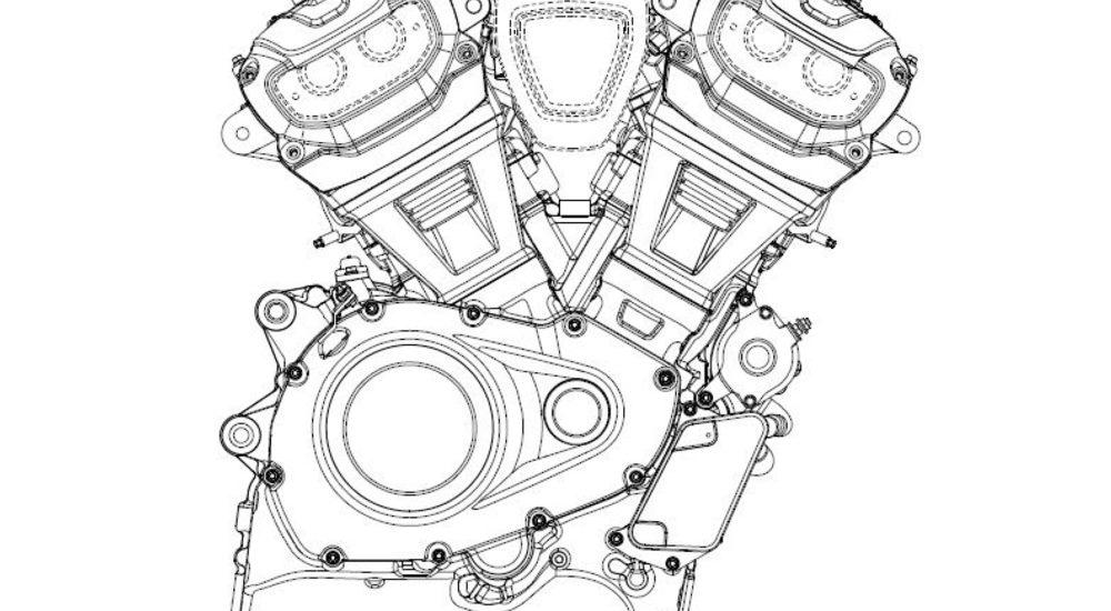 2020 Harley-Davidson 60 graden blok