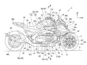 Krijgt de Yamaha Niken concurrentie van Honda?