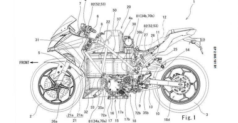 Elektrische Kawasaki Ninja 400 met verwisselbare accu?