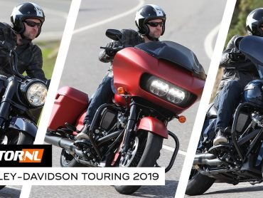 Harley-Davidson Touring line-up 2019