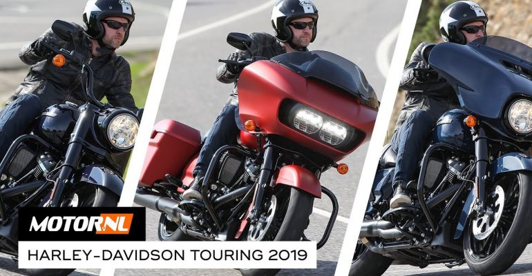Harley-Davidson Touring line-up 2019