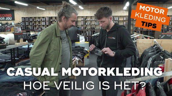 Hoe veilig is casual motorkleding? | Motorkledingtips