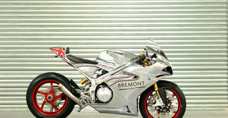 De Norton V4 Superbike