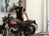 Officiële opening van Motoplex door Marco Melandri en Sylvain Guintoli