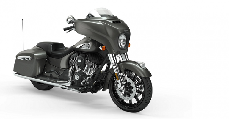 Intermot: nieuwe Indian Chieftain