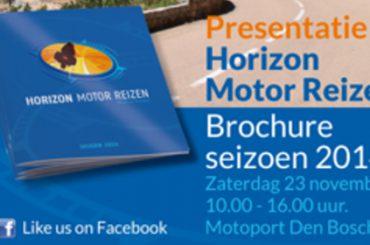 Nieuwe brochure Horizon Motor Reizen