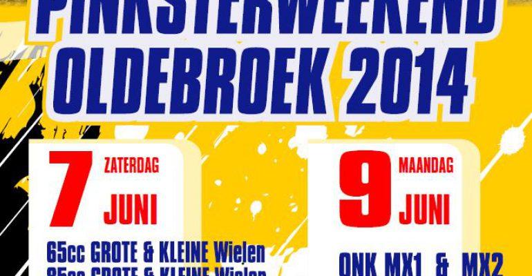 Motorcross in Oldebroek Pinksterweekend 2014 (7 en 9 juni)