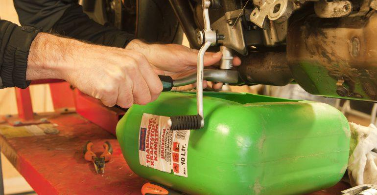 How to: motor rijklaar maken.