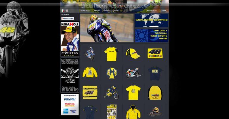 Rossi-merchandise