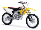 Nieuwe kleuren Suzuki-crossers