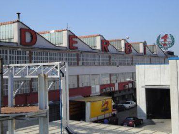 Piaggio verplaatst Derbi-fabriek