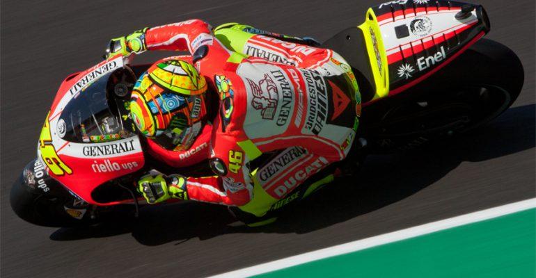 Film> Rossi's unieke helmdesigns