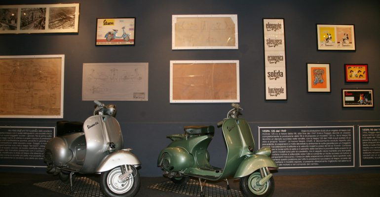 Bijzondere tentoonstelling Piaggio