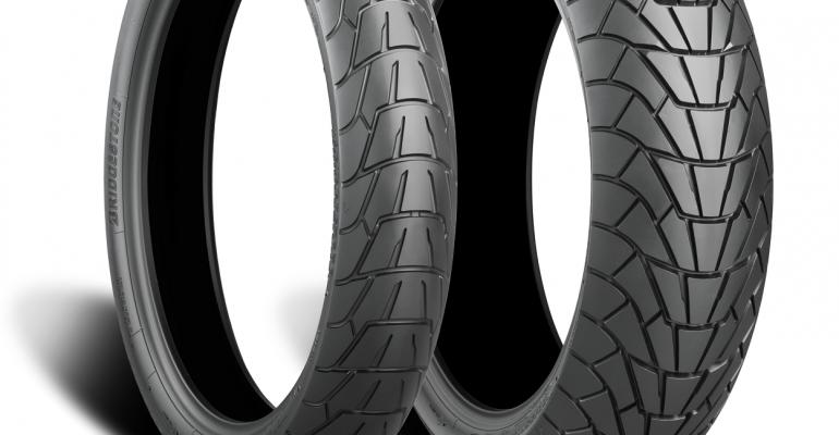 Vier nieuwe Bridgestone banden